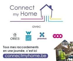 Connect My Home - ORES, la SWDE, Proximus et VOO s'associent pour vous faciliter la vie