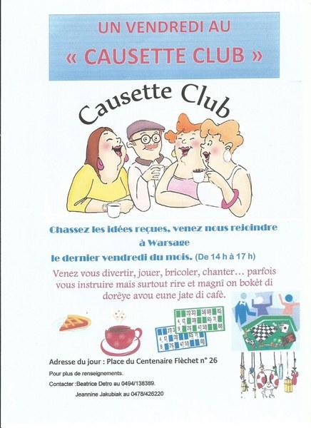 Affiche Causette Club 1