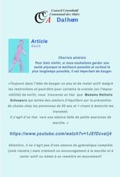 Article 1 santé