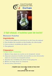recette 2 eau xx