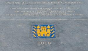 "Inauguration de la ""Place des Centenaires Carabin"""