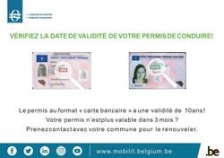 🚗🚚 Renouvellement administratif du permis de conduire modèle carte bancaire 🚚🚗