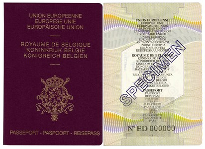 specimen passeport