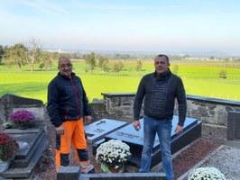 Entretien des cimetières pour la Toussaint 2019