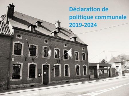 Déclaration de Politique communale 2019-2024